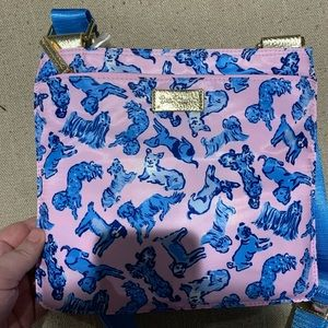 Lilly Pulitzer puppy purse new